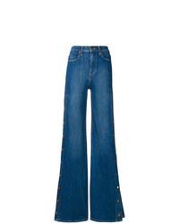 Pantalones anchos vaqueros azules de Alice + Olivia