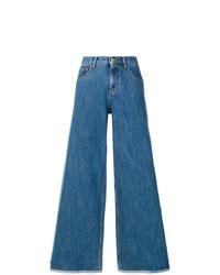 Pantalones anchos vaqueros azules de Andrea Ya'aqov