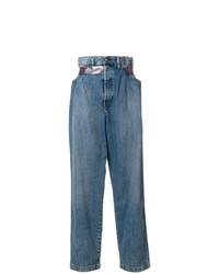Pantalones anchos vaqueros azules de Diesel