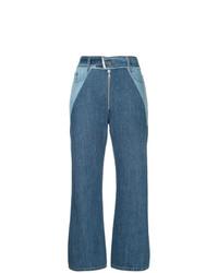 Pantalones anchos vaqueros azules de Sea