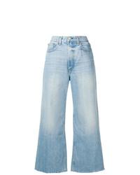 Pantalones anchos vaqueros celestes de Rag & Bone