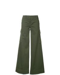 Pantalones anchos verde oliva de Nili Lotan