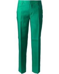 Pantalones anchos verdes de Dsquared2