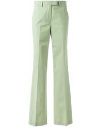 Pantalones anchos verdes de Etro