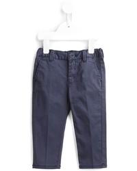 Pantalones azul marino de Armani Junior
