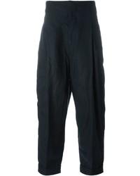 Pantalones azul marino de Haider Ackermann
