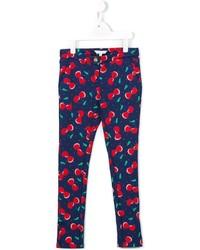 Pantalones azul marino de Little Marc Jacobs