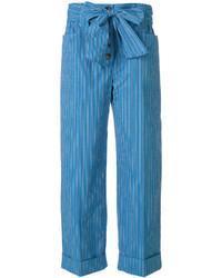 Pantalones Azules de Tory Burch