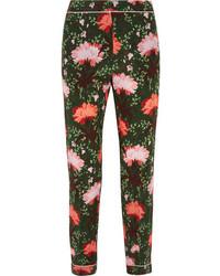 Pantalones con print de flores