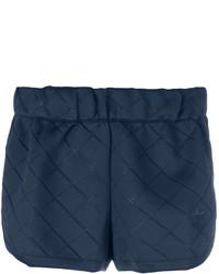 Pantalones cortos acolchados azul marino de adidas