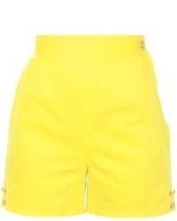 Pantalones cortos amarillos