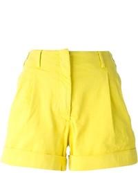 Pantalones cortos amarillos de Etro