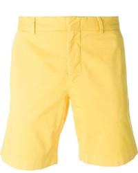 Pantalones cortos amarillos de MSGM