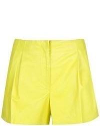 Pantalones cortos amarillos de Proenza Schouler