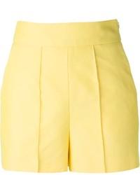 Pantalones cortos amarillos de Valentino
