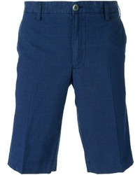Pantalones cortos azul marino de Canali