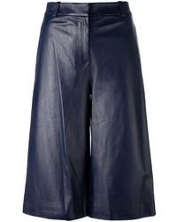 Pantalones cortos azul marino de Diane von Furstenberg