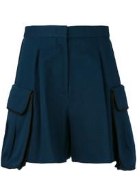 Pantalones Cortos Azul Marino de Fendi
