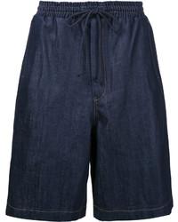 Pantalones cortos azul marino de Juun.J