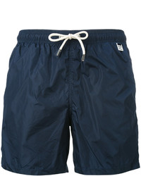 Pantalones cortos azul marino de MC2 Saint Barth