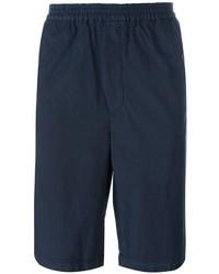Pantalones cortos azul marino de MSGM
