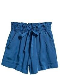 Pantalones cortos azules