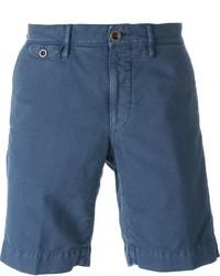Pantalones cortos azules de Incotex