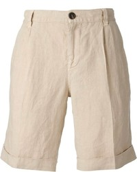 Pantalones Cortos Beige de Brunello Cucinelli
