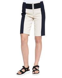 Pantalones Cortos Blancos y Negros