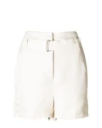 Pantalones cortos blancos de Ann Demeulemeester