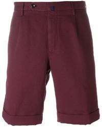 Pantalones Cortos Burdeos de Incotex