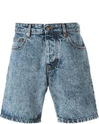 Pantalones cortos celestes de AMI Alexandre Mattiussi