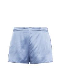 Pantalones cortos celestes de Fleur Du Mal