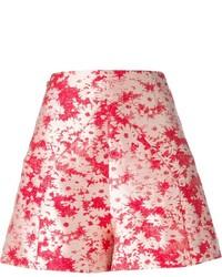 Pantalones cortos con print de flores rosa de Stella McCartney