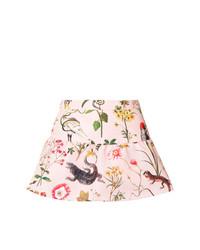 Pantalones cortos con print de flores rosados de RED Valentino