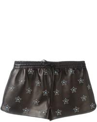 Pantalones cortos con tachuelas negros de Valentino