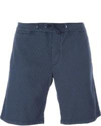 Pantalones cortos de algodón azul marino de Eleventy