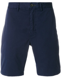 Pantalones Cortos de Algodón Azul Marino de Paul Smith