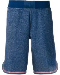 Pantalones cortos de algodón azules de Nike