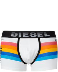 Pantalones cortos de algodón blancos de Diesel