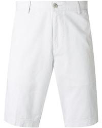 Pantalones cortos de algodón blancos de Hugo Boss