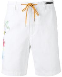 Pantalones cortos de algodón blancos de Pt01