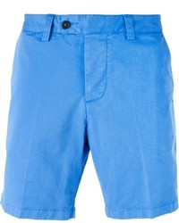 Pantalones cortos de algodón celestes de AMI Alexandre Mattiussi