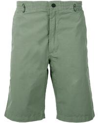 Pantalones Cortos de Algodón en Verde Menta de MHI