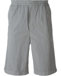 Pantalones cortos de algodón grises de MSGM