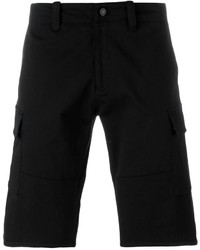 Pantalones cortos de algodón negros de Givenchy
