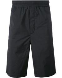 Pantalones cortos de algodón negros de Neil Barrett
