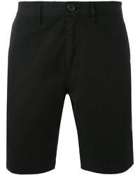 Pantalones cortos de algodón negros de Paul Smith