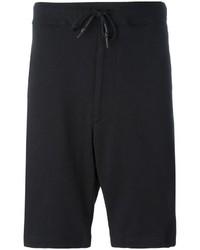 Pantalones cortos de algodón negros de Y-3
