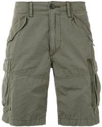 Pantalones cortos de algodón verde oliva de Polo Ralph Lauren